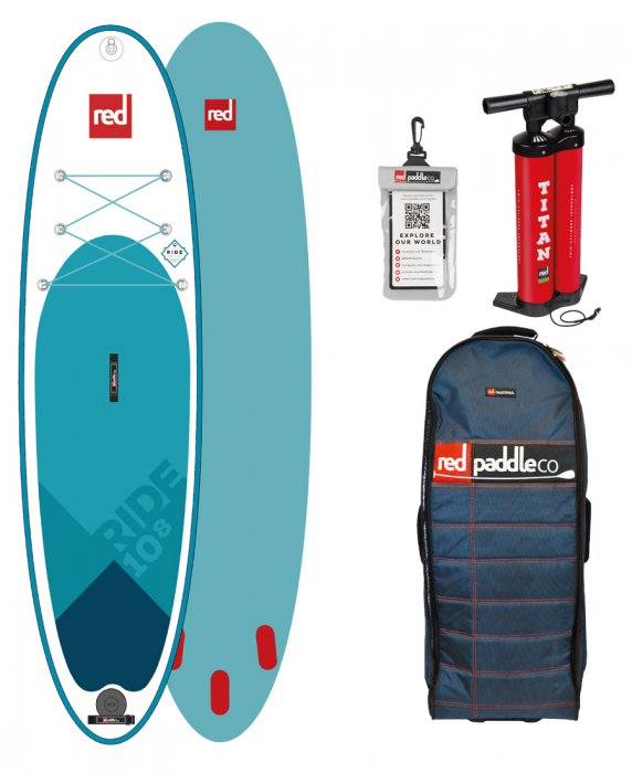 Paddleboard RED Ride